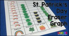St. Patrick's Day Eraser Graph (from Freebielicious)