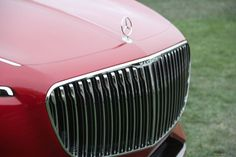Vision Mercedes-Maybach 6 grille