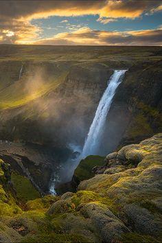 sublim-ature:  Háifoss, IcelandAlister Benn
