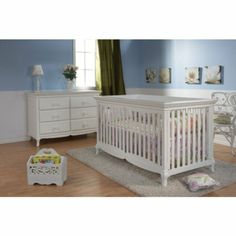 Amazon.com - Pali Designs Ancona 4 in 1 Convertible Crib Collection -