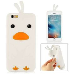 Slicoo iPhone 6 / 6S kryt 3D Chick biely