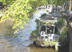 Canal Houseboats, Amsterdam