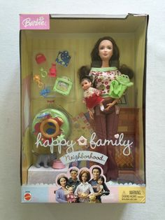 Barbie The Neighbors Mom & Baby Happy Family Neighborhood Doll 2004 for sale online Barbie 90s, Barbie Doll Set, Barbie Doll House, Barbie Clothes, Diy Doll School Supplies, Barbie Happy Family, Barbie Playsets, Barbie Sisters, Cabbage Patch Kids