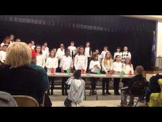 NEMS Choir Sleigh Ride with Cup Routine