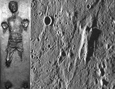 Han Solo In Carbonite Found on Planet Mercury