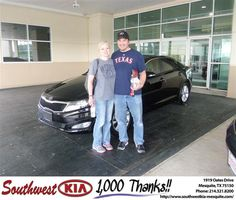 #HappyAnniversary to Adam Shinsky on your 2011 #Kia #Optima from Everyone at Southwest Kia Mesquite!