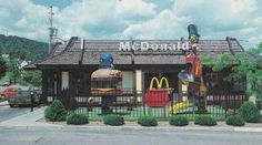 Oooh McDonalds in the 80's!