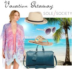 """Vacation Getaway"" by solesociety ❤ liked on Polyvore"