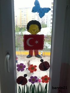 23 Nisan Ulusal Egemenlik ve Çocuk Bayramı süslemelerimiz . Şablonları indirmek için tıklayınız: http://www.egitimhane.com/23-nisan-pano-pencere-susu-d242775.html