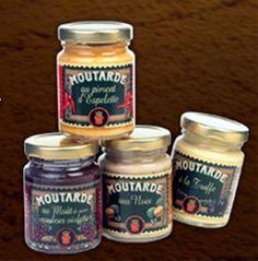 lot de 2 tubos 2 moutardes 1 a la noix et 1 a la truffe 100 gr louis roque neuf