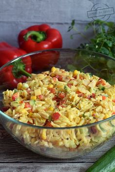 Kraut, Guacamole, Orzo, Pasta Salad, Salad Recipes, Potato Salad, Grilling, Good Food, Food And Drink