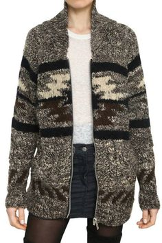 Perfect for a cozy fall Sunday! This Etoile Isabel Marant alpaca wool sweater begs to be paired with a pair of tall riding boots.