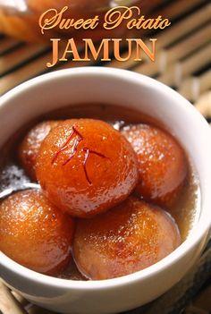 YUMMY TUMMY: Sweet Potato Gulab Jamun Recipe / Gulab Jamun using Sweet Potato Recipe