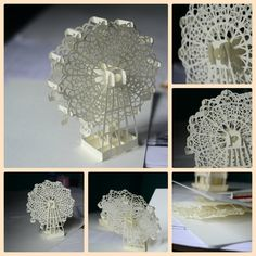 Collage Ferriswheel by =Buujang on deviantART  Kirigami:  The art of paper cutting Origami:  The art of paper folding