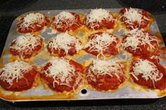 Skinny Chicken Parmesan 'Muffins'   Skinny Mom   Tips for Moms   Fitness   Food   Fashion   Family