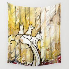Three Wall Tapestry