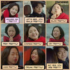 Korean Drama Funny, Korean Drama Quotes, Goblin Korean Drama, Ji Eun Tak, Goblin Kdrama, Kwon Hyuk, South Korea Seoul, Exo Fan Art, Kim Go Eun