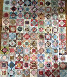 Patchwork Vol D'oie, Patchwork Quilting, Scrappy Quilts, Patch Quilt, Quilt Blocks, Quilting For Beginners, Beginner Quilting, Plus Quilt, Quilt Binding