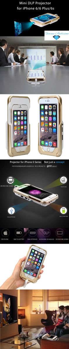 This exclusive iPhone mini pocket projector will improve your lifestyle and make… Iphone 6, Iphone Cases, Iphone Gadgets, Phone Covers, Cool Gadgets, Improve Yourself, Cool Stuff, Random Stuff, Technology