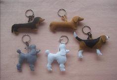 Blog do passo a passo: chaveiro cachorros de raça ! lindos! passo a passo pap molde