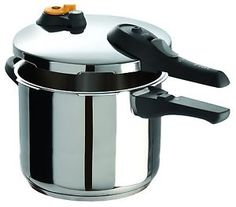 T-fal P25142 Stainless Steel Pressure Cooker Cookware, 4-Quart, Silver  | eBay