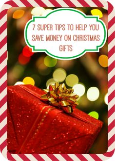 Christmas gift giving doesn't have to be expensive.  There are lots of ways to give friends and family gifts that will communicate your love and affection.