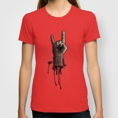 The Rocking Dead T-shirt by Matheus Lopes - $18.00