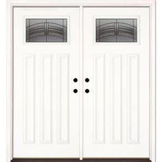 Feather River Doors 37 5 In X In 2 Panel Plank Chocolate Mahogany St