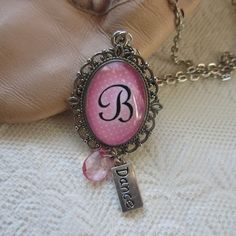 Pretty and feminine dance necklace! This is the perfect ballet recital gift for your little swan! The pendant measures approximately Teacher Birthday Gifts, Birthday Gifts For Girls, Teacher Gifts, Girl Birthday, Gifts For Teens, Kids Gifts, Kids Jewelry, Unique Jewelry, Dance Accessories