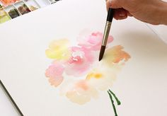 Watercolor tricks to try out: The Alison Show: Watercolor Tutorial