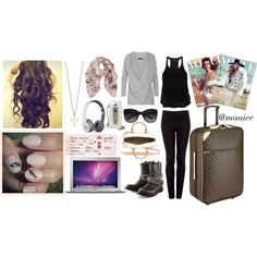 """Travel the world"" by maiiee on Polyvore"