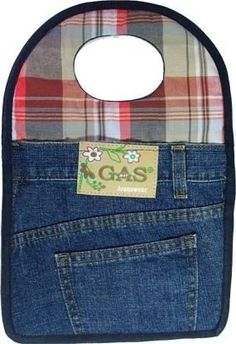 Lixeira Para Carro Feita De Calça Jeans