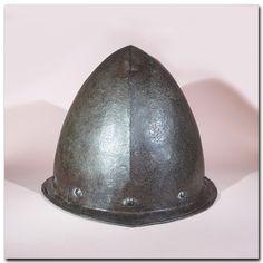 Spanish Steel Cabasset Helmet, 16th Century A.D.