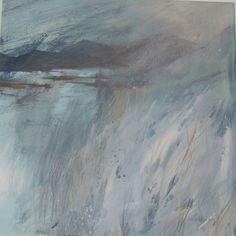 "Norma Stephenson. ""Toward Lakeland hills"". Pastel, size not known."