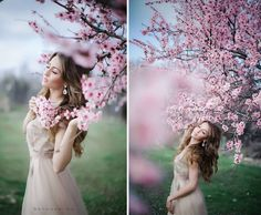 Photography Dreamy Photography, Spring Photography, People Photography, Photography Photos, Cherry Blossom Pictures, Cherry Blossoms, Portrait Fotografie Inspiration, Mommy And Me Photo Shoot, Senior Photos Girls