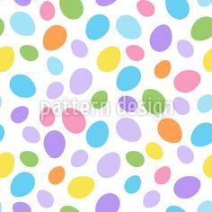Gemischte Ostereier Rapportmuster by Svetlana Bataenkova at patterndesigns.com Vektor Muster, Coloring Easter Eggs, Abstract Pattern, Patterns, Design, Pattern Drafting, Block Prints, Pattern