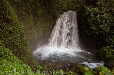 Waterfall near Arenal Volcano