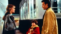 Tom Hanks and Meg Ryan as Sam & Annie from Sleepless in Seattle (1993)
