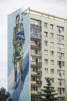 Shai Dahan - Murale Gdańsk Zaspa