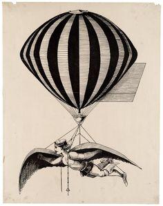 Steampunk Balloon ~ Zibi Vintage Scrap