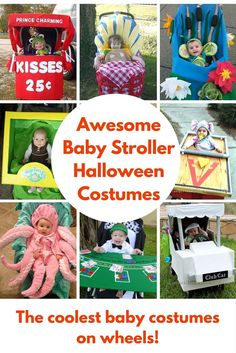 Baby Stroller Halloween Costumes that Rock! Let's face it, some of us really know how to do Halloween. Whether it is awesome decorations, the best candy in the candy dish or crafting a wonderfully handmade Stroller Halloween Costumes, Stroller Costume, Baby Halloween Costumes For Boys, Hallowen Costume, Halloween Fun, Costume Ideas, Best Baby Costumes, Dyi Costume, Scarecrow Costume