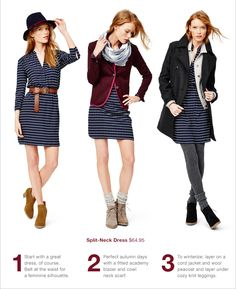 1 dress, 3 ways to rock it this Fall