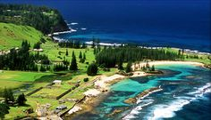 Norfolk island australia ~ Love to visit !