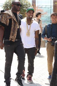 Kanye x LV Jaspers x Dior Homme
