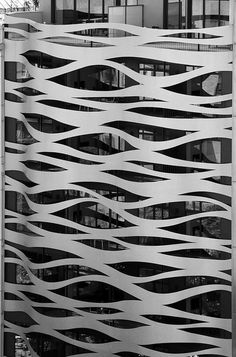 Building Facade in Barcelona This modern building is quite close to two of Gaudi's masterpieces in t Modern Architecture Design, Facade Design, Facade Architecture, Wall Design, Minimalist Architecture, Building Skin, Building Facade, Cement Art, Unique Buildings