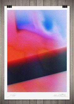 Gradient / Image of Studies in Broadcast Colour 6 111 x 76cm