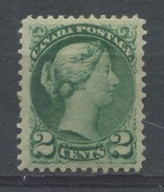 The 2c green Small Queen Issue of 1872-1897. When this stamp was first issued, it had a variety of uses from paying local registration fees and as a make-up stamp for the more expensive local rates. Eventually though it was mostly used to pay the postage on local letters within a city.