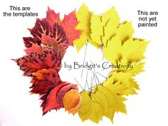 My paper leaves Leaf Template, Templates, Paper Leaves, Autumn Leaves, Quilling, Projects, Painting, Models, Fall Leaves