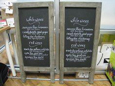 French bistro menus