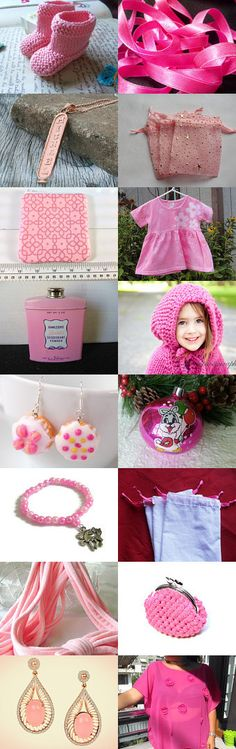 For the love of PINK  ( Treasury Power) by artcards4u on Etsy--Pinned+with+TreasuryPin.com